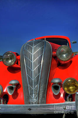 Photograph - Hudson Terraplane by Tony Baca