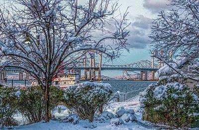 Photograph - Hudson Valley Winter Wonderland by Jeffrey Friedkin