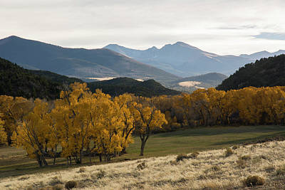 Photograph - Huerfano Valley by Aaron Spong