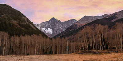 Photograph - Huerfano Valley Sunset by Aaron Spong