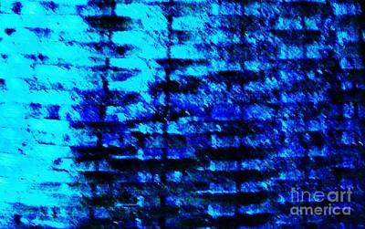 Hues Of Blues Art Print