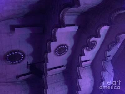 Massey Hall Wall Art - Photograph - Hues Of Massey Hall - Purple by Cheryl Mouncey