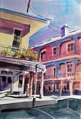 Hues Of The French Quarter Art Print by Spencer Meagher