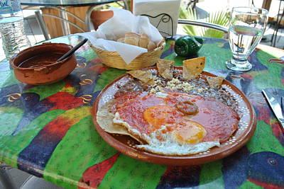 Huevos Photograph - Huevos Rancheros In Mexico by Nimmi Solomon