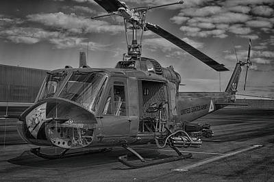 Photograph - Huey Gunship by Bill Dutting