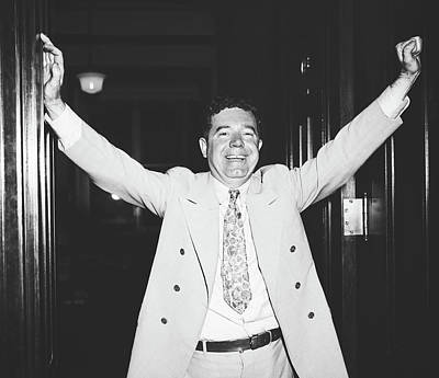 Photograph - Huey Long 1935 by Library Of Congress