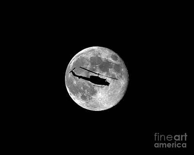 Huey Moon .png Print by Al Powell Photography USA