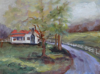 Painting - Huff Hollow by Carol Berning