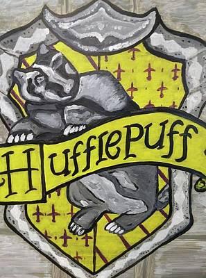Painting - Hufflepuff by Jonathon Hansen