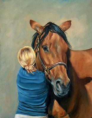 Painting - Hug by Carole Andreen-Harris