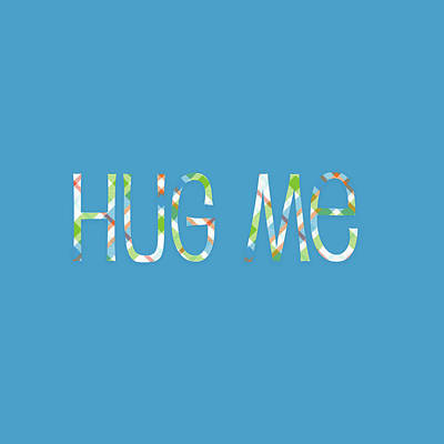 Digital Art - Hug Me by Bonnie Bruno