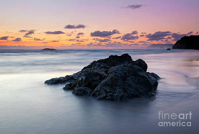 Photograph - Hug Point Dusk by Mike Dawson