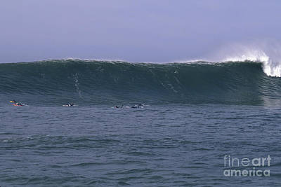Photograph - Huge Mavericks Wall by Stan and Anne Foster