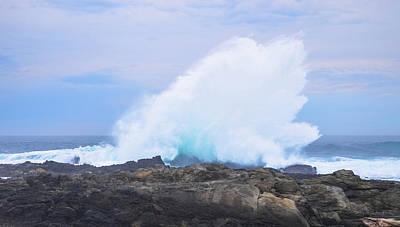Photograph - Huge Storms River Splash by Jeff at JSJ Photography