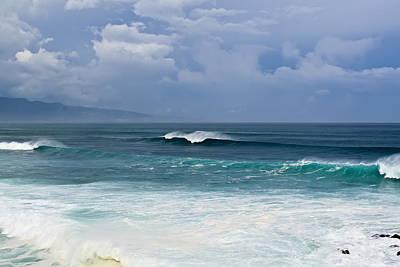 Photograph - Huge Surf Maui Hawaii by Waterdancer