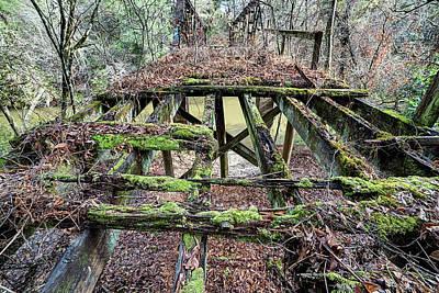 Photograph - Huggins Mill Rd Bridge by JC Findley