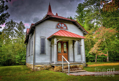 Photograph - Hughes Public Library by Douglas Stucky