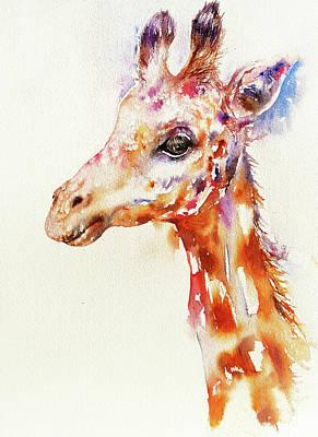 Painting - Hugo The Giraffe by Arti Chauhan