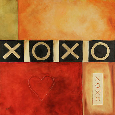 Painting - Hugs And Kisses by Marti Idlet