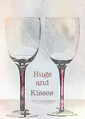 Photograph - Hugs And Kisses by Sherry Hallemeier