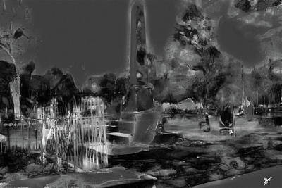 Photograph - Huguenot Cemetery by Gina O'Brien