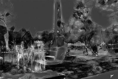 Photograph - Huguenot Cemetery by Gina O'Brien