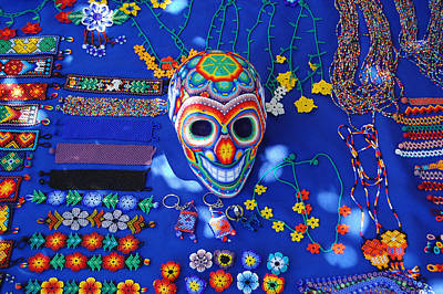 Photograph - Huichol Art Mexico by George Olney