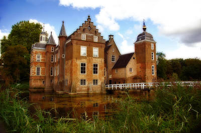 Photograph - Huize Ruurlo Castle In Netherlands by Ginger Wakem