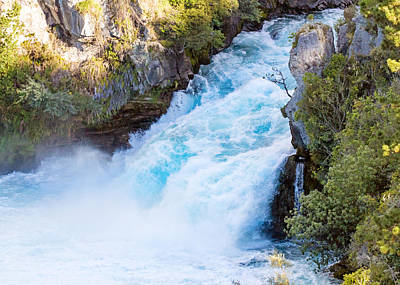 Photograph - Huka Falls by Nicholas Blackwell