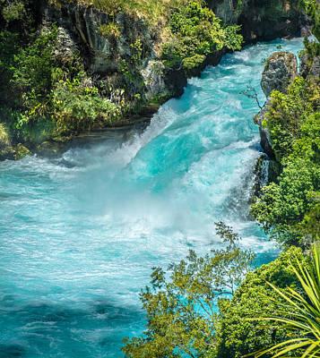 Photograph - Huka Falls by Racheal Christian