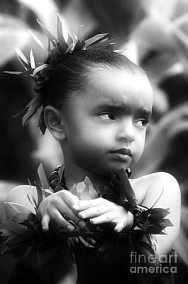 Hula Girl Photograph - Hula Angel by Uldra Johnson
