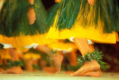 Photograph - Hula Festival by William Waterfall - Printscapes