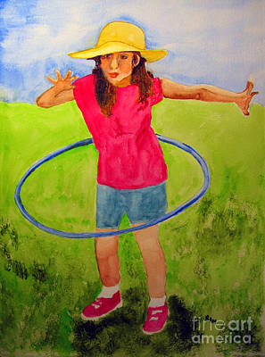 Painting - Hula Hoop by Sandy McIntire