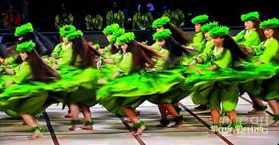 Photograph - Hula - Swirling Skirts by Craig Wood