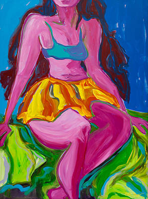 Painting - Hula Wahine by Beth Cooper