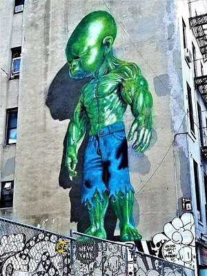 Photograph - Hulk Baby by Rob Hans
