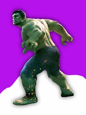 Hulk Collection Art Print