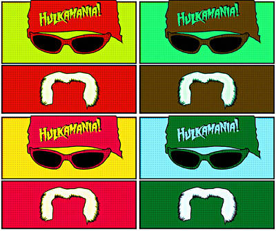 Photograph - Hulk Hogan - Hulkamania by Kyle West