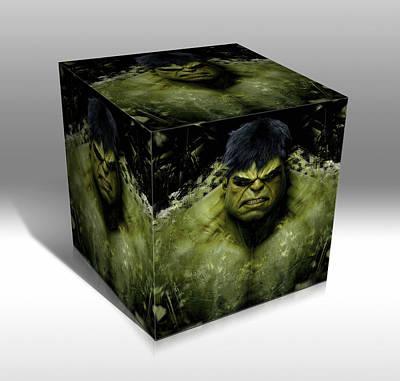 Mixed Media - Hulk by Marvin Blaine