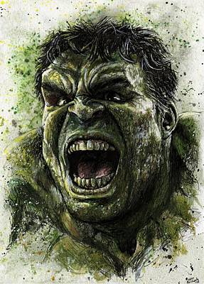 Hulk Original by Nate Michaels