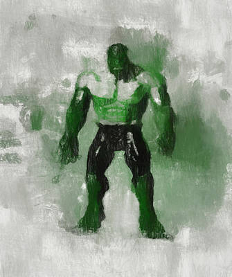 Painting - Hulk Smash by Dan Sproul