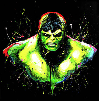 Hulk Unleashed Original by Kelly Renken