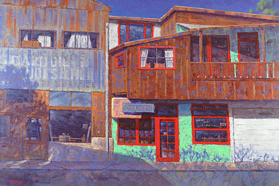 Paintings - Hull Ave Hangover by Cody DeLong