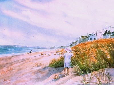 Massachusetts Painting - Hull's Splendor by Laura Lee Zanghetti