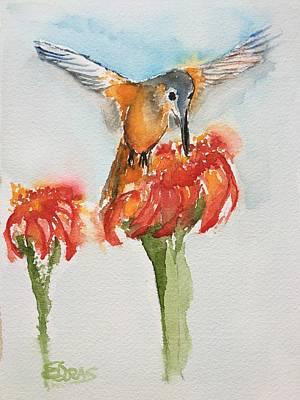 Painting - Hum Yum by Elaine Duras