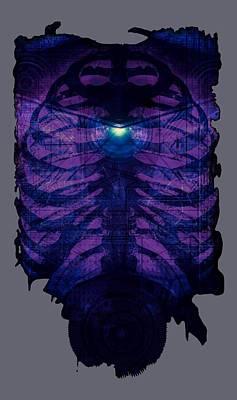 Borg Digital Art - Human Cyborg by Randolph Ping