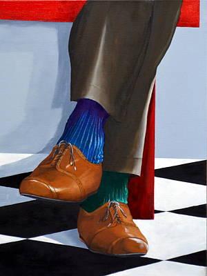 Painting - Human Error by Jake Brown