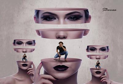 Digital Manipulation Painting - Human Relationship by Surreal Photomanipulation