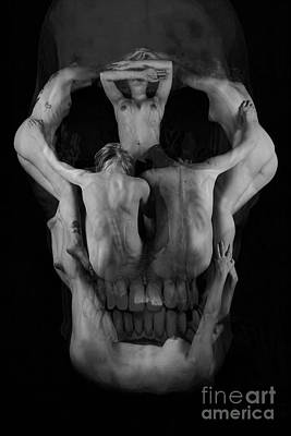 Photograph - Human Skull by Robert WK Clark