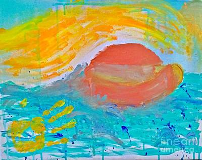 Unity Painting - Humanity Ark Of Noah by Dagmar Batyahav